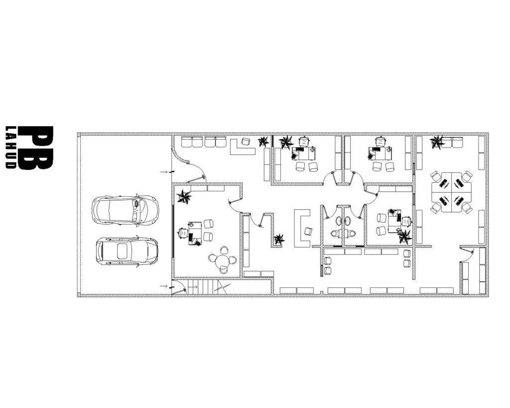 oficinas LAHUD-Model